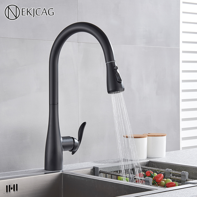 Kitchen faucet single handle hand-out kitchen faucet single hole handle rotation faucet hot and cold water