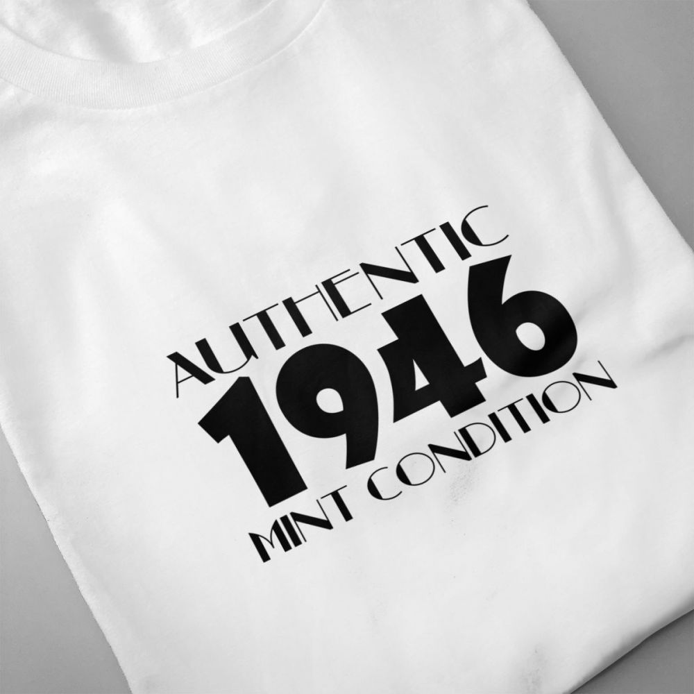 Authentic 1946 Mint Condition t shirt men Casual Fashion Men 39 s Short Sleeve T shirt boy girl hip hop t shirt top tees in T Shirts from Men 39 s Clothing