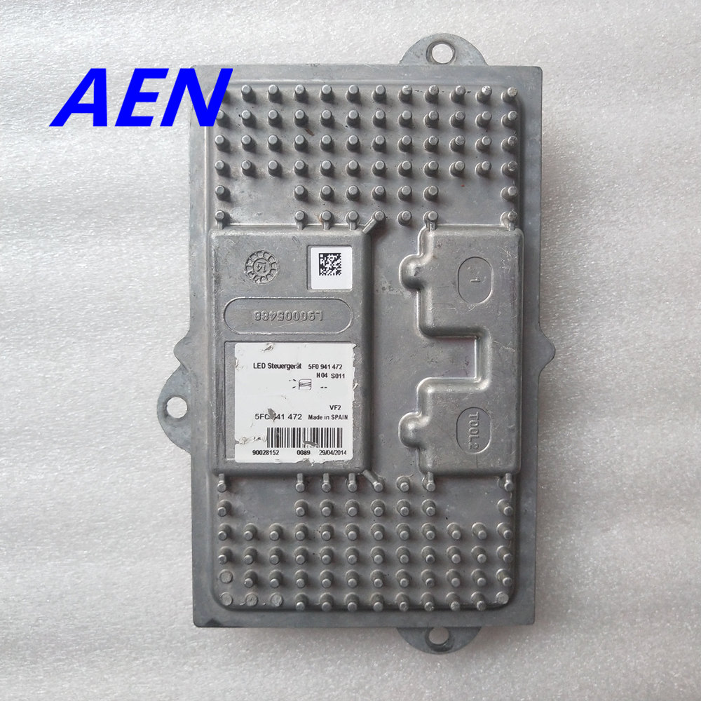 5F0941472 Xenon Lamp LED Headlight Ballast Unit For Audi 2014-2016 SEAT Leon Module
