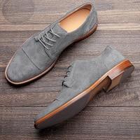 サイズ7-12男性のドレスシューズ本革快適なビジネススタイリッシュな紳士のオックスフォード男性カジュアル靴 # AL706