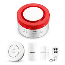Tuya APP control Smart Infrared Sensor Detecter Alarm WIFI Burglar Alarm System Security Home Smart Home Appliance Control cheap 65*65*35mm The Alarm Apps Control Wireless Door Window Sensor 3 7V