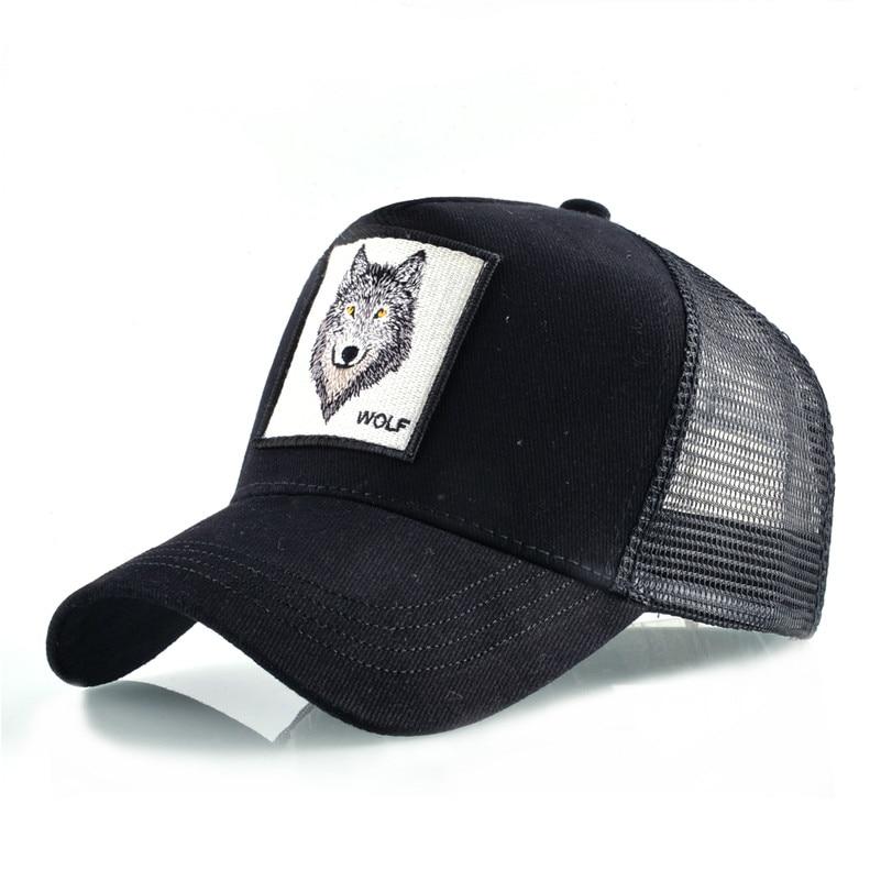 Baseball     Caps   men Breathable Mesh Snapback   caps   Unisex sun hat for women bone Hip Hop   cap   8 Kinds of embroidery animal