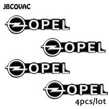 Phụ Kiện Xe Hơi 3D Tự Động Âm Thanh Nhôm Loa Âm Thanh Nổi Miếng Dán Kính Cường Lực Cho Opel Astra J Phù Hiệu Astra G Corsa Zafira B Mokka kiểu Dáng Xe