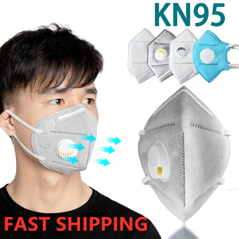 30pcs Mask KN95 PM2.5 Formaldehyde Bad Smell Bacteria Respirator Dust-proof Mouth Masks Flu Prevention Protective As KF94 Ffp2