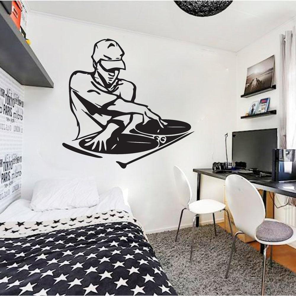 DJ Concert Party Music 5 piece HD Art Poster Wall Home Decor Canvas Print