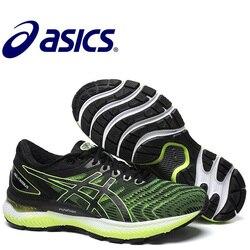 Zapatillas auténticas originales Asics Gel Nimbus 22 para hombre, zapatilla deportiva Asics Gel Nimbus 22 Asics