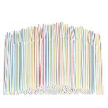 Disposable Straws Plastic for Party-Bar Beverage-Shop Household X5