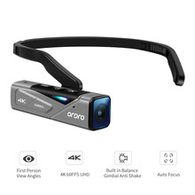 Vlog-cámara de vídeo Full HD con estabilizador de cardán, videocámara Digital portátil con cabezal FPV, compatible con YouTube, Ordro EP7 4K 60FPS