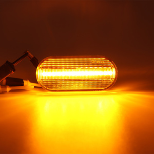 Image 5 - עבור סיאט איביזה 6L קורדובה טולדו ליאון 1M דינמי מהבהב הפעל אות אור מהדר מחוון הנורה ענבר אוטומטי