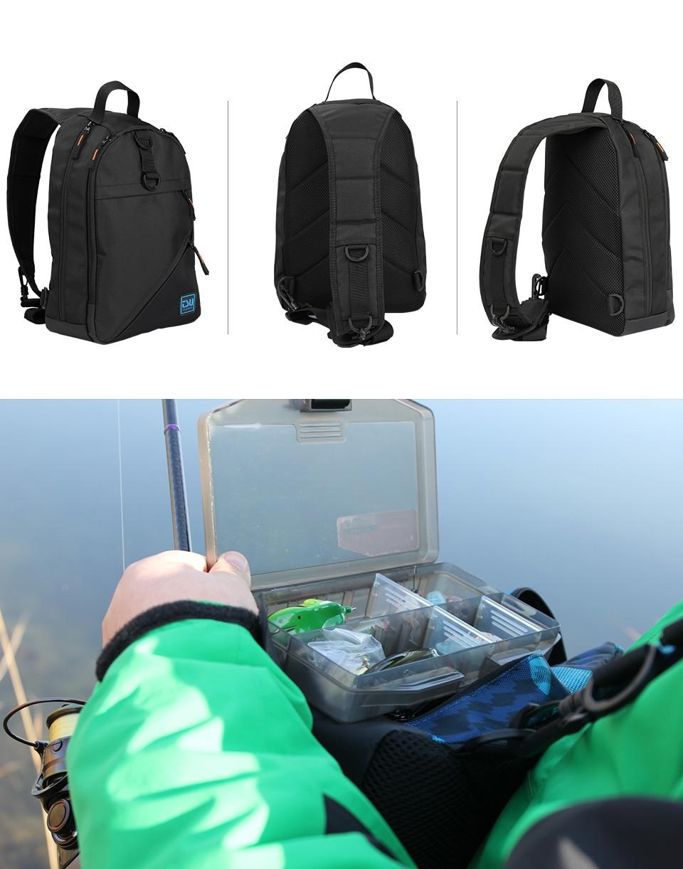 Tsurinoya moda saco de pesca 35*24*11cm à