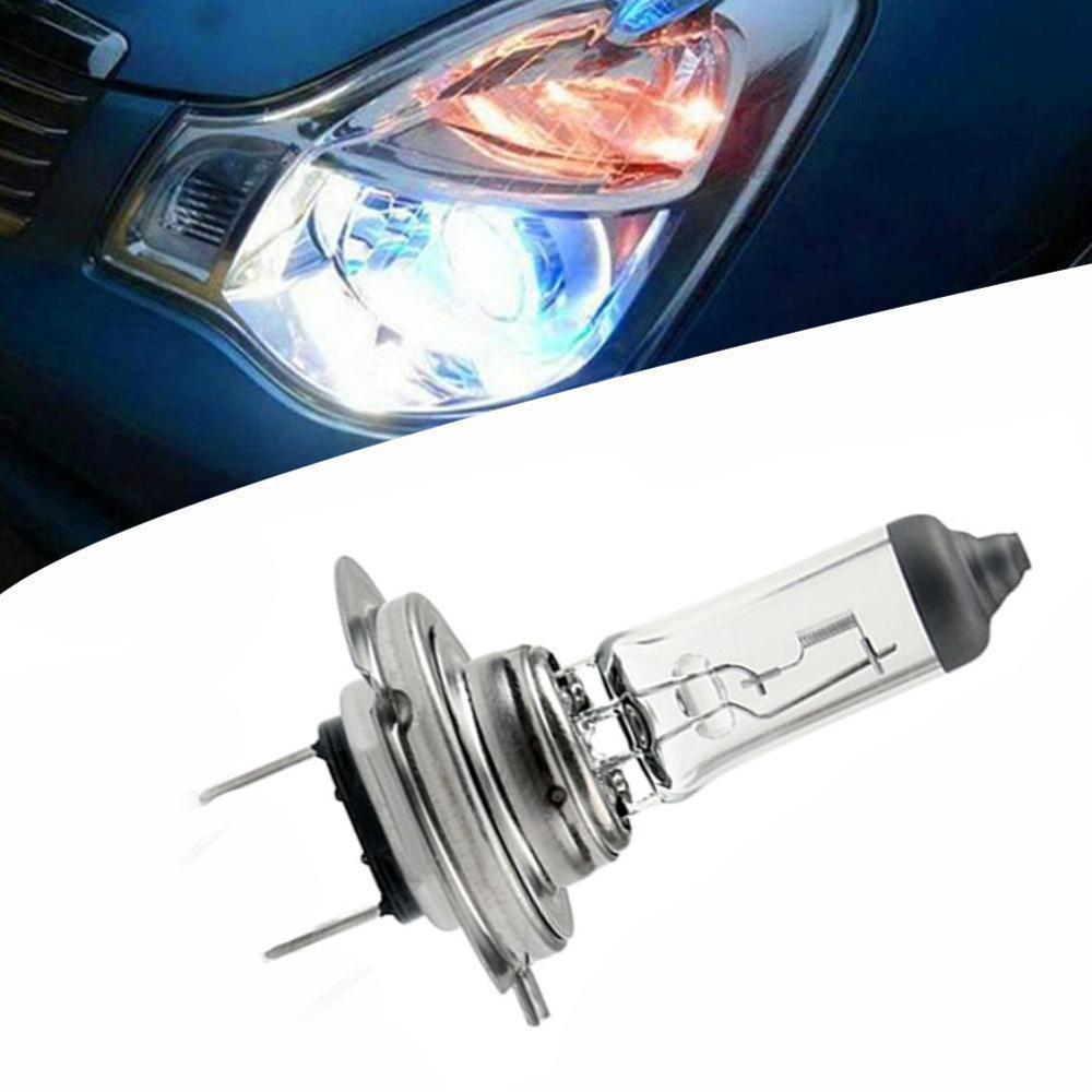 H7 Halogen Bulb Lamp 12V 55W Clear Blue Light strong penetration HeadLight Glass Car