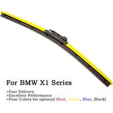 2020 Newest Four Colors Wiper Blades For BMW X1 Series E84 F48 Model xDrive18d xDrive28i xDrive20d sDrive18d xDrive23d xDrive25d 1 set wiper blades for bmw 5 series e60