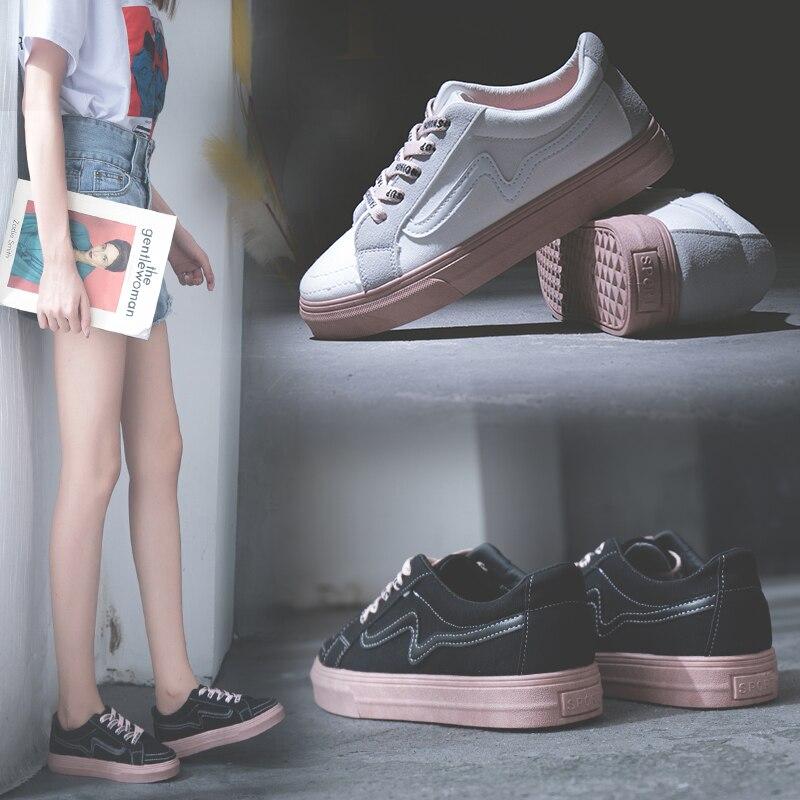 Tenis Feminino Tenis Mujer 2019 Women Tennis Shoes Retro Sneakers Sport Shoes Student Walking Flat Footwear Tenis Plataforma
