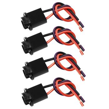 YUNPICAR T10 194 W5W 921 LED światła gniazdo żarówki złącze do wiązki kabli dla wtyczki światła postojowe światło tablicy rejestracyjnej tanie i dobre opinie Drut miedziany