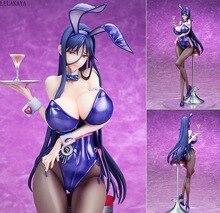 Anime Native Bindung Reinem weiß Magische Sexy Mädchen Zettai Junbaku Mahou Shoujo Misa Suzuhara Bunny Ver. PVC action figure Spielzeug