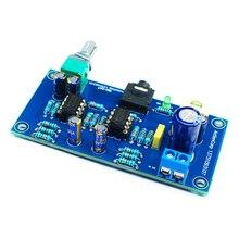 KYYSLB Single Power Version DC9~24V Amp Board 47 Amp Portable Headphone Amplifier Hifi Finished Board KIT 80*40MM