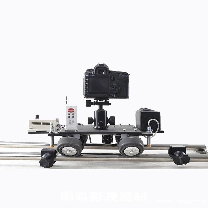 Controle motorizado mini slider rail dolly elétrica tiro fotografia para a câmera De Vídeo Handycam