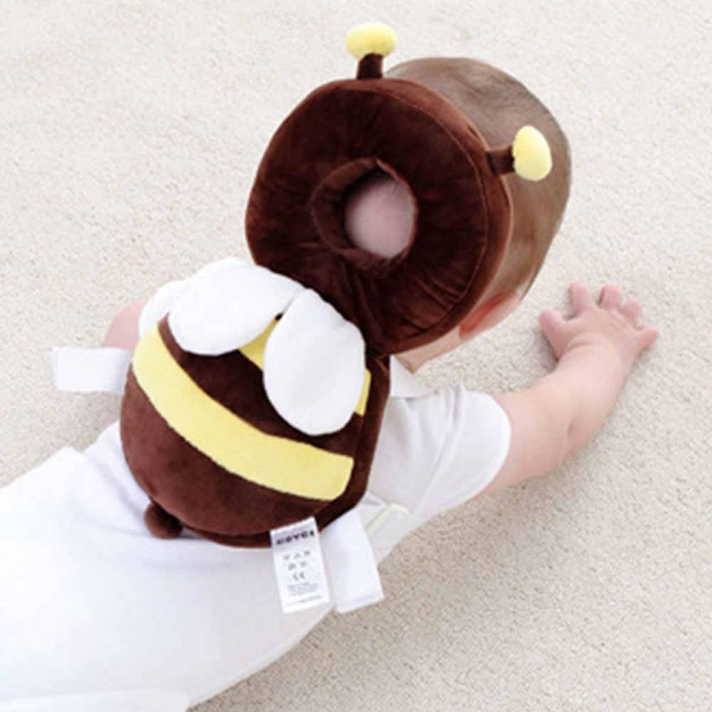 Kleinkind Kopfstütze Pad Weichen Kopf Schutz Mit Schulter Gurt Baby Kissen Kissen Anti Fallen Cartoon Sicher Nette Pflege