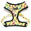 Yellow dog harness