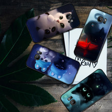 Mobile Phone Cases for Samsung A5 3 6 7 8 9 10 A10 A20 30 40 50 60 70 M40 Soft Silicone Cover Lovely cat(China)