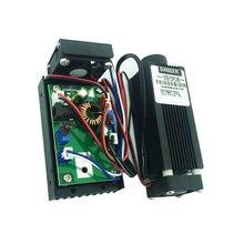 עוצמה Focusable 808nm 1000mW אינפרא אדום לייזר מודול בלתי נראה 1W IR לייזר cnc דיודה לייזר עם TTL נהג לוח קירור מאוורר