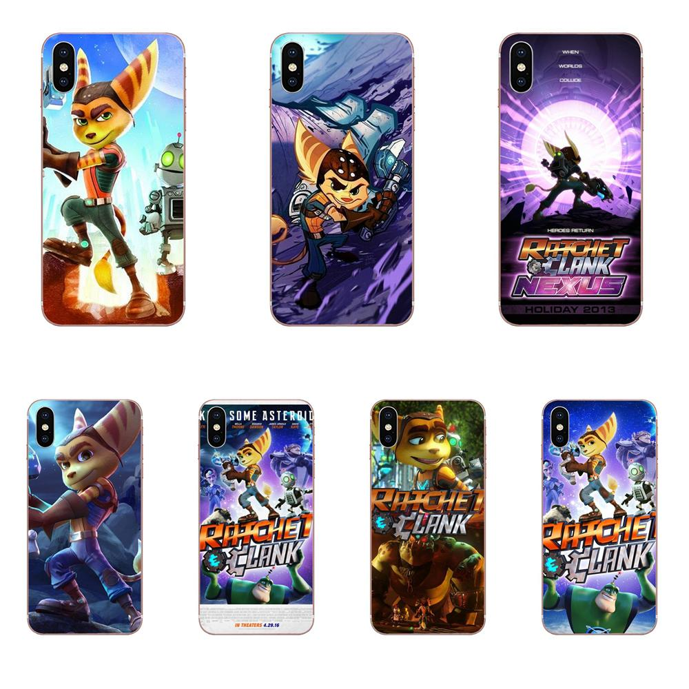 Game Ratchet And Clank For Samsung Galaxy Note 5 8 9 S3 S4 S5 S6 S7 S8 S9 S10 5G mini Edge Plus Lite TPU Protector Phone Cases image