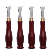 1.0-2.5mm Leather Arch Edge Sector Shallow Groove Edges Cold and Hot Pressure Line Punch Embedding Thread Leathercraft Tools
