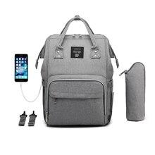 USB おむつのためのママミイラ産科ウェットバッグ防水ベビーカーオーガナイザーバッグ屋外ベビーケアバッグ LEQUEEN