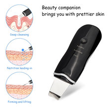 Usb Перезаряжаемые ультразвуковой скраб для кожи лица Очиститель