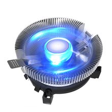USB Cooling Fan for Computer Case CPU Cooler Radiator With Blue Light Accessories Fans