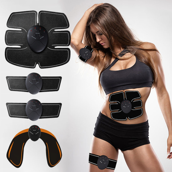 Slimming Massager EMS Wireless Muscle Stimulator Trainer Electric Hips Trainer Smart Fitness Abdominal Training Weight loss Body rechargable ems abdominal muscle stimulator exerciser trainer device training weight loss slimming smart massager machine