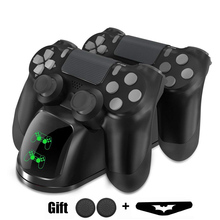 Dock-Station Joystick-Handle Usb-Charger Joypad Ps4 Controller Dual-Usb for 4-Ps4 Slim/ps4-Pro