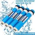 Membrana RO de 75/100/125 GPD para 5 filtros de agua sistema de tratamiento de ósmosis inversa