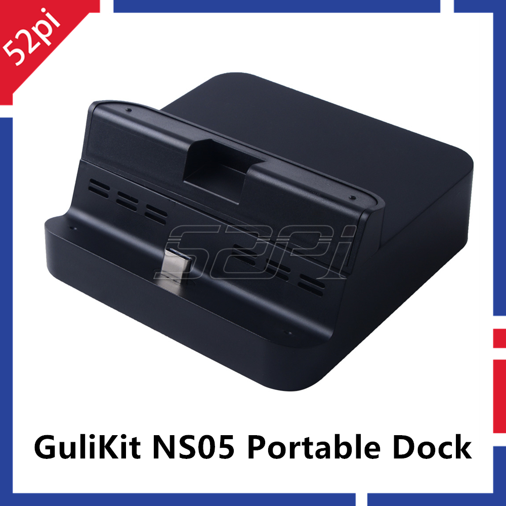 52Pi Gulikit NS05 Portable Dock For Nintendo Switch Docking Station With USB-C PD Charging Stand Adapter USB 3.0 Port