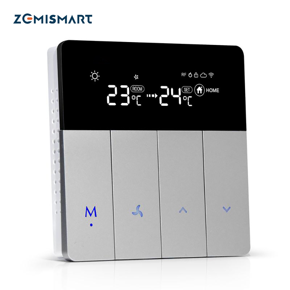 Tuya Air Condition Thermostat Alexa Eco Google Home Control