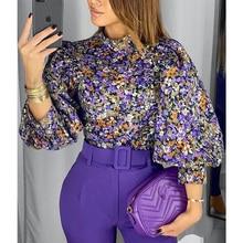 2020 New Fashion Vintage Women Blouse