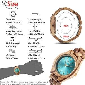 Image 5 - Shifenmei S5563 femme montres montre de mode 2019 bois décontracté pour femmes dames montre à Quartz bracelet en bois complet