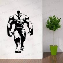 Classic Marvel Cartoon Wall Decals For Kids Room Hulk Vinyl Decal Modern Design PW292