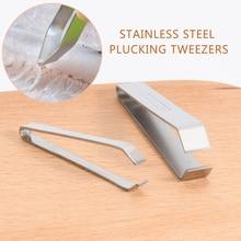 Stainless Steel Fish Bone Remover Pliers Pincer Puller Fish Bone Tweezer Tongs Pick-Up Utensils Kitchen Tweezers Seafood Tool