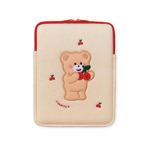 Cute Bear For Apple pro13 inch 16 Laptop Bag For iPad1