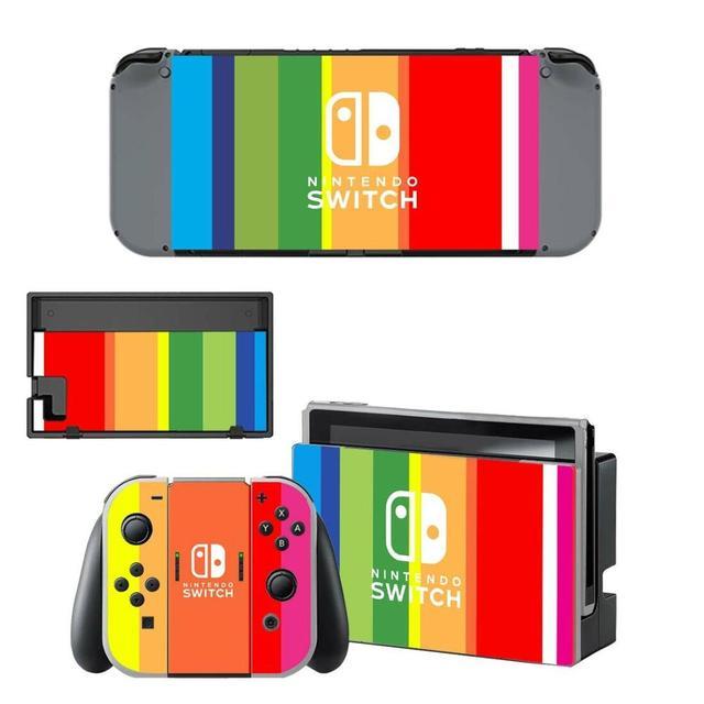 Nintendo Switchสติกเกอร์ผิวไวนิลNintendoSwitchสติกเกอร์สกินใช้งานร่วมกับคอนโซลNintendo SwitchและJoy Con