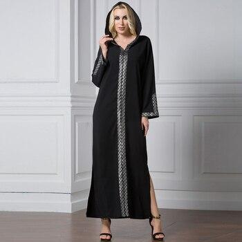 Plus Size Abaya Kaftan Dubai Muslim Hijab Dress Abayas Caftan Marocain Qatar Oman Turkey Elbise Ramadan Islamic Clothing Robe