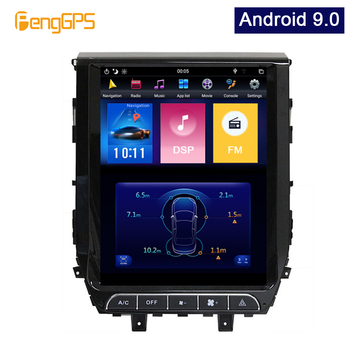 Android 9.0 Multimedia GPS Navigation For Toyota Land Cruiser 2016 Car Setreo Receiver Tesla Vertical Screen 1080P PX6 Head Unit фото