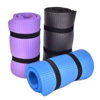 Colchonetas de Pilates suaves de 60x25x cm para gimnasio almohadilla antideslizante para Yoga, rodillera, cojín, Codera deportiva, almohadillas plegables para interiores, musculación gruesa, 1 unidad