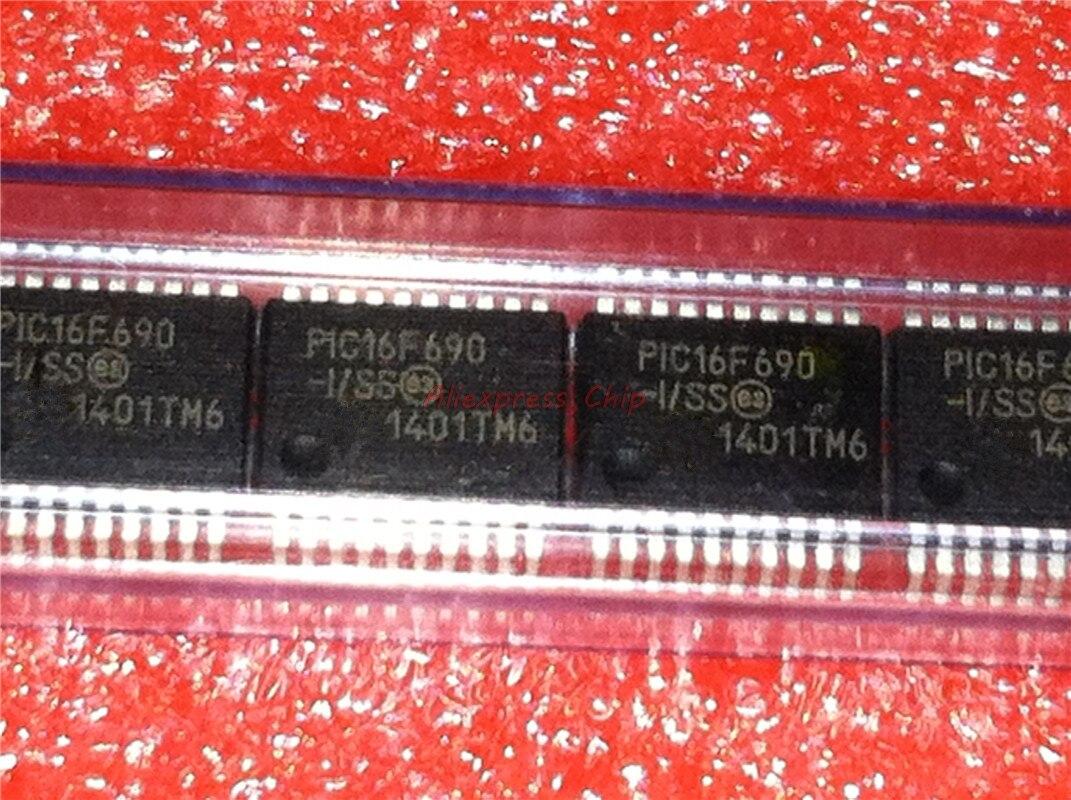 1pcs/lot PIC16F690-I/SS PIC16F690ISS 16F690-I/SS PIC16F690 SSOP-20 In Stock