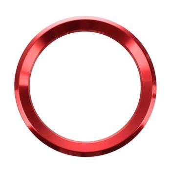 For BMW E34 E30 E60 E36 E39 E46 E30 E60 E90 E92 F10 F30 F25 Ca Steering Wheel Circle Covers Interior Car Accessories Red image