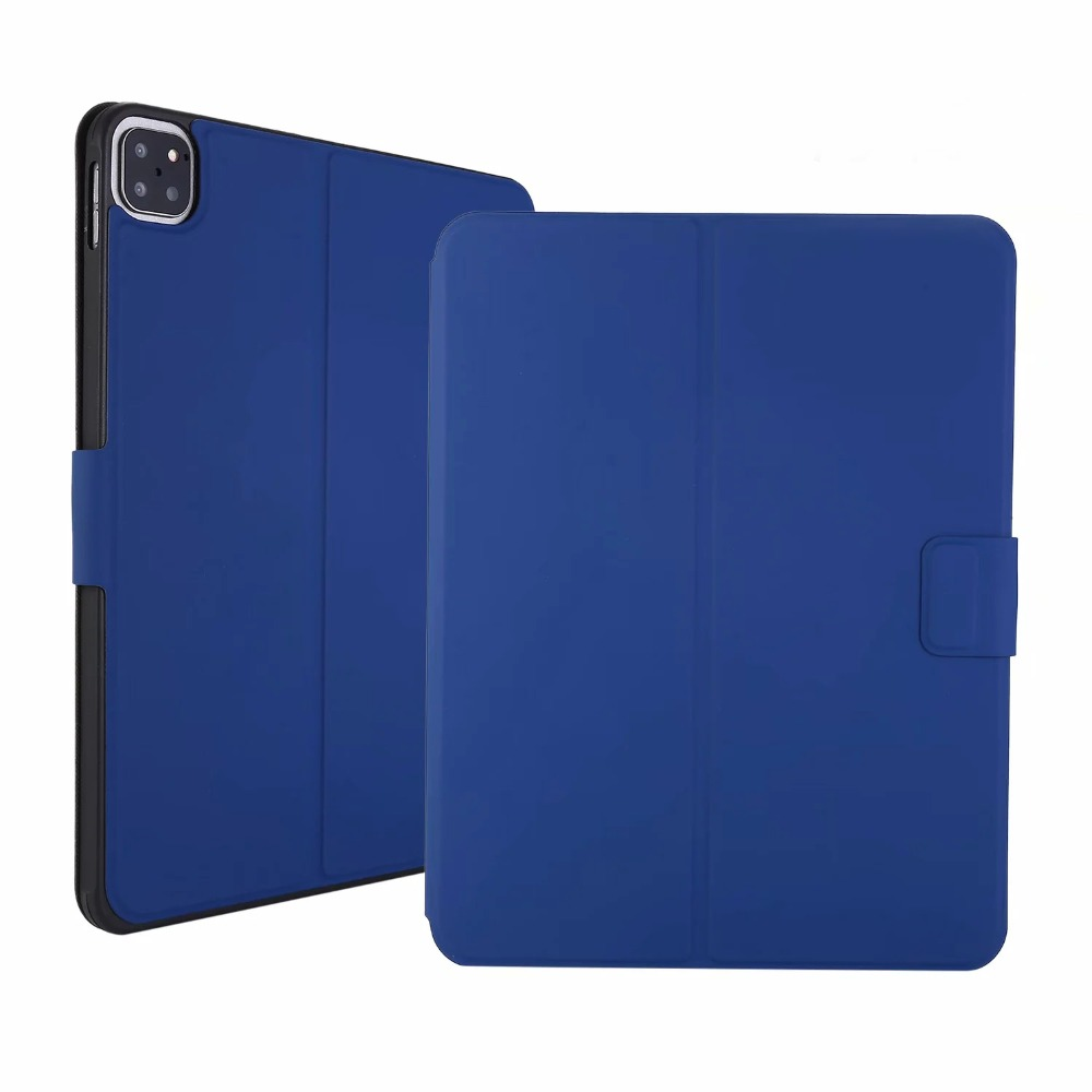 Stand 2020 2021 A2228 Shell Case Tablet 2018 Case PU Cover iPad Flip Pencil A2301 Leather Thin Pro for TPU Slot iPadpro pro11 11