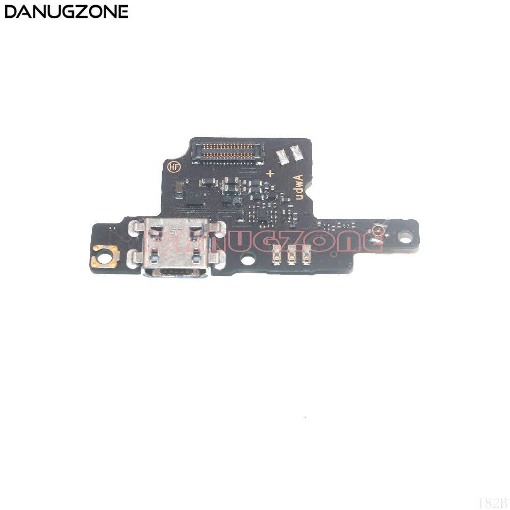 USB-порт для зарядки док-станции, разъем, разъем, плата для зарядки, гибкий кабель для ZTE Blade V9 Vita V0920 / Xiaoxian 5S