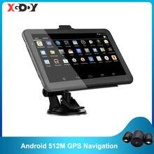 Xgody android 7 дюймовый автомобильный gps навигация 2 в 1 планшетный
