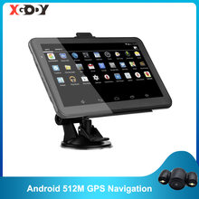 XGODY Android 7 Zoll Auto GPS Navigation 2 in 1 Tablet PC 16GB WiFi Auto Navigator 2020 Europa Karte 2019 russland Navitel EU Lager